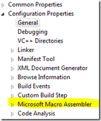 Configuring Visual Studio 2010 for Assembly Development