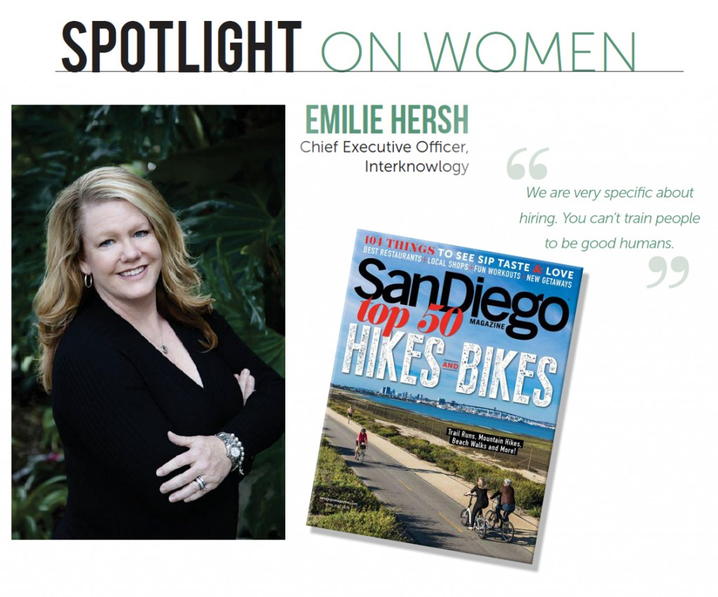 spotlight on women Emilie Hersh